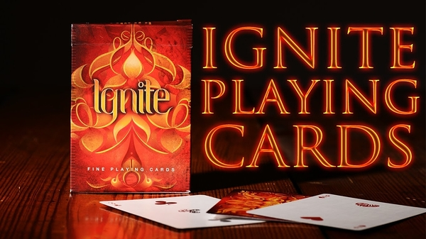 【USPCC 撲克】Ignite Playing Cards 點燃 撲克 BY Ellusionist