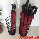 家用盛水雨傘桶鐵藝雨傘架門廳收納tz9091【男人與流行】