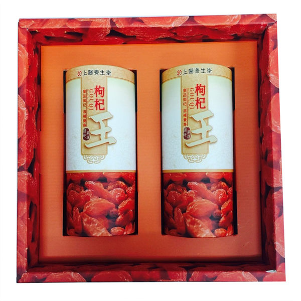 【台灣尚讚愛購購】上醫養生堂-特級枸杞2入禮盒(200g/罐)