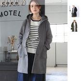 中長款外套 連帽大衣 混紡羊毛 現貨 免運費 日本品牌【coen】