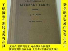 二手書博民逛書店A罕見DICTIONARY OF LITERARY TERMS(
