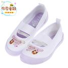 《布布童鞋》Moonstar日本製Disney蘇菲亞小公主紫色兒童室內鞋(15~19公分) [ I7F019F ] 紫色款
