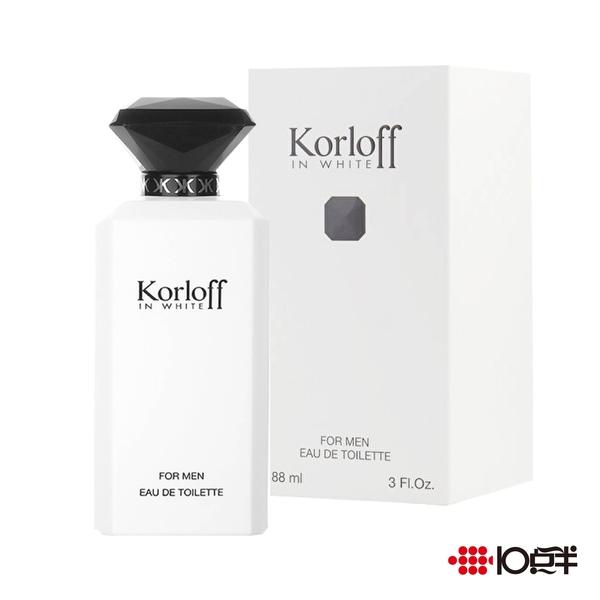 Korloff IN WHITE 白鑽神話 男性淡香水 88ml *10點半美妝館*