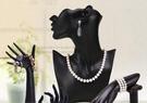 耳環架 首飾架收納人像模特掛項鏈耳環架擺手鐲戒指飾品架子珠寶展示道具【八五折搶】