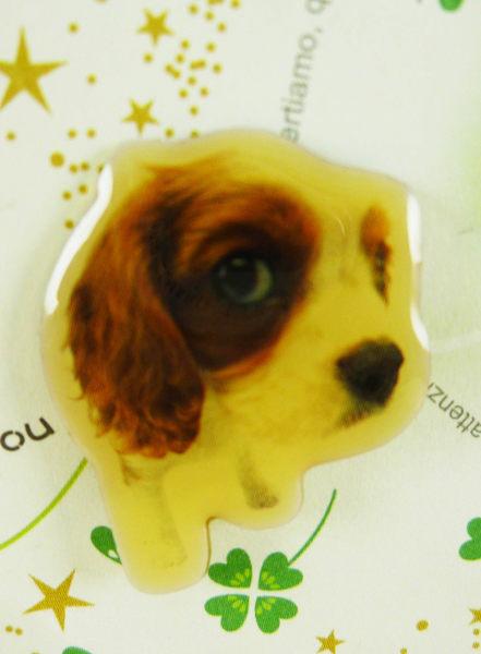 【震撼精品百貨】新大頭狗_The Dog~造型別針-查理王