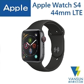 Apple Watch Series 4 44mm LTE 太空灰色鋁金屬錶殼 搭配 黑色運動型錶帶(MTVU2TA/A)【葳訊數位生活館】