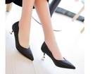 降價兩天 低跟鞋女單鞋尖頭細跟低跟三厘米金色銀色伴娘鞋尖頭優雅年會禮服