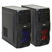 【德隆】YAMA 雅瑪 裝機者V1 中塔式遊戲電腦大機殼 (1 藍/紅)【刷卡含稅價】【刷卡分期價】
