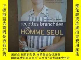 二手書博民逛書店Recettes罕見Branch?Es Pour Homme Seul 【法文原版】Y269331 n a n