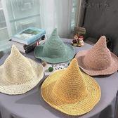 兒童草帽夏季防曬遮陽帽