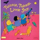 【麥克書店】TWINKLE TWINKLE LITTLE STAR/ 書+CD (廖彩幸書單延伸系列繪本)