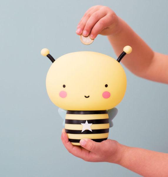 【荷蘭 A little lovely company】造型存錢筒 -  Buzz小蜜蜂 #MBBEYL08