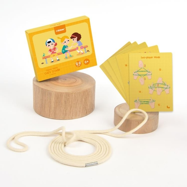 兒童經典游戲翻花繩