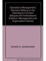 二手書博民逛書店《Operations Management: Decision