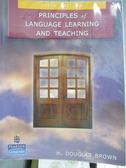 【書寶 書T8 /大學教育_ZJR 】Principles of Language Learning And Teachi