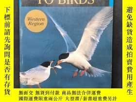 二手書博民逛書店Stokes罕見Field Guide to Western Birds Western Region 斯托克斯西