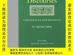二手書博民逛書店Discourses罕見Concerning Government-關於政府的論述Y436638 Algern