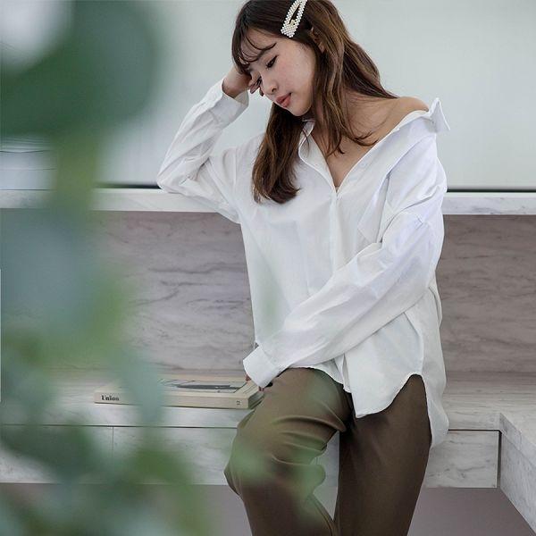 現貨-MIUSTAR 挺版面料!單口袋排釦棉麻襯衫(共7色)【NH2682】