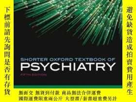二手書博民逛書店Shorter罕見Oxford Textbook Of PsychiatryY364682 Gelder, M