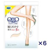 【QTTO爽健】日本Dr.Scholl魔術美腿絲襪 粉膚色絲襪 (6雙入)