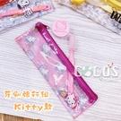 正版 三麗鷗 HELLO KITTY KT 凱蒂貓 牙刷 小圓罐 牙刷旅行組 收納袋 COCOS JP023