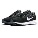 NIKE WMNS AIR ZOOM STRUCTURE 20 女鞋 跑鞋 黑 灰 【運動世界】 849577-003