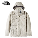 The North Face 男 防水透氣衝鋒外套 卡其NF0A4979ZBV【GO WILD】