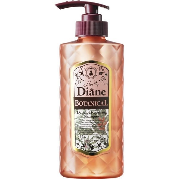 【Moist Diane黛絲恩】清透植萃修護洗髮精 480ml (2入)