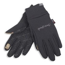 丹大戶外用品【SnowTravel】美國X-static銀纖維保暖防風手套 可帶著觸控螢幕 防滑/觸控 型號AR-61 黑