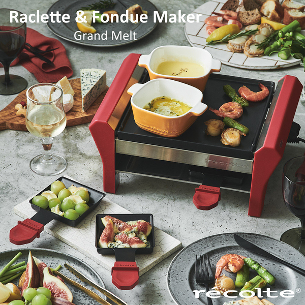 【黑五最後倒數】*recolte日本麗克特 Grand Melt 煎烤盤-生活工場