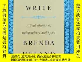 二手書博民逛書店IF罕見YOU WANT TO WRITE A BOOK ABOUT ART,INDEPENDENCE AND S