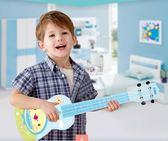 吉他玩具 寶麗里初學者兒童小吉他玩具可彈奏樂器音樂玩具21寸配調音 俏女孩