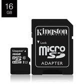 Kingston 金士頓 T-F 16G B SDCS 記憶卡 (80MB+轉卡)