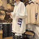 T恤 寬鬆潮流帥氣百搭長袖上衣2020年秋季新款男生外套(聖誕新品)