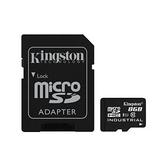 新風尚潮流 金士頓 工業級記憶卡 【SDCIT/8GB】 8G micro SDHC 每秒 讀90MB 寫20MB