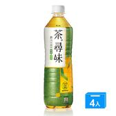 黑松茶尋味新日式綠茶590ml*4【愛買】