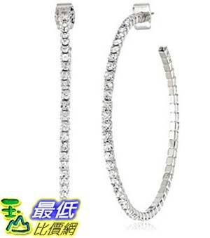 [美國直購] Oroclone Crystal Set Crystal J-Hoop Earrings 耳環