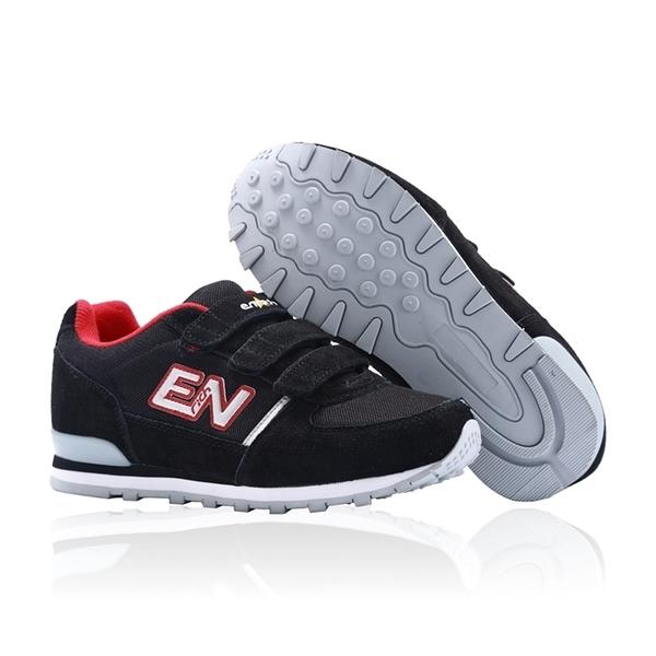 ENRICH英立奇健走慢跑鞋-黑紅 女款 RW05V-03 (32-40)