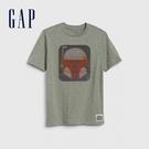 Gap男童星際大戰圓領短袖T恤573653-復古棕櫚色