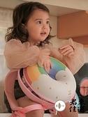 兒童後背包書包可愛幼稚園雙肩包甜甜圈彩虹幼兒背包女童【君來佳選】