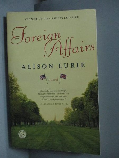 【書寶二手書T9/原文小說_OGR】Foreign Affairs_Alison Lurie