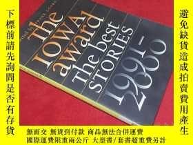 二手書博民逛書店the罕見iowa award the best stories 1991-2000 愛荷華金像獎最佳故事1991