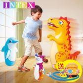 INTEX不倒翁玩具充氣寶寶加厚加大號嬰兒早教益智兒童不到翁小孩