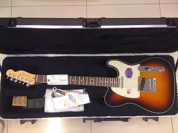 【金聲樂器廣場】全新美廠 Fender American Deluxe Telecaster 2012 新款 搭載 N3 拾音器 全配附件