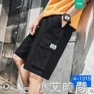 短褲男士潮牌夏季休閒工裝ins潮流薄款外穿寬松五分中褲七分褲子 小艾新品