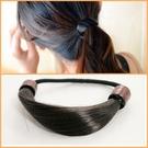 ►韓式假髮髮圈 麻花辮子髮繩 皮筋 頭繩 髮飾(髮繩款) 【B5008】