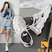 老爹鞋女夏季透氣百搭休閒運動鞋子【慢客生活】