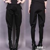 新款夏哈倫褲女冬高腰顯瘦休閒褲寬鬆小腳蘿蔔褲大碼長褲(快速出貨)