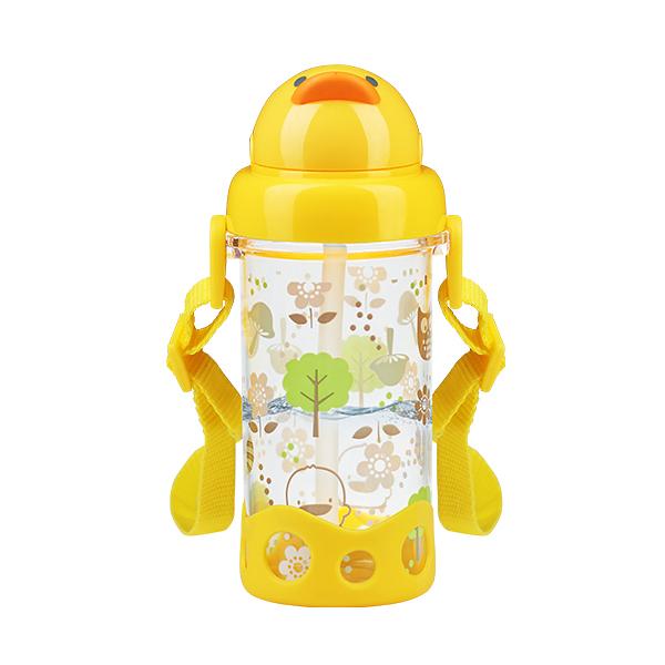 黃色小鴨 Tritan吸管水壺400ml【德芳保健藥妝】