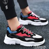 冬季男鞋子韓版潮流百搭男士帆布鞋跑步運動棉鞋加絨休閒潮鞋